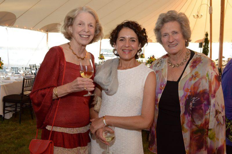 Ellen, Marion, and Genie