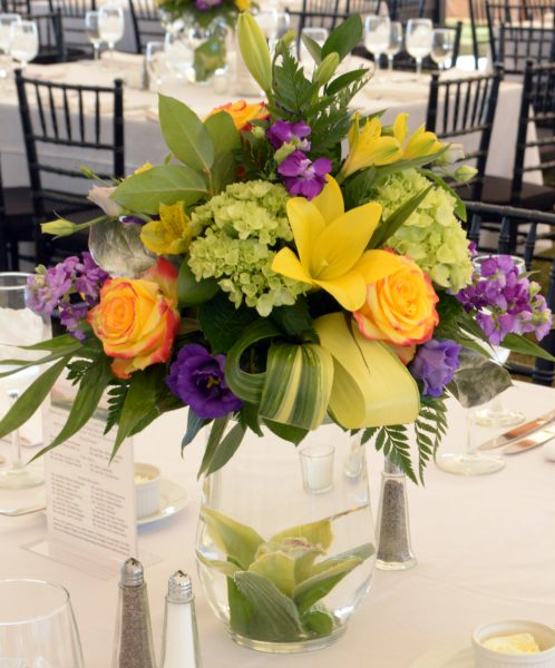 Centerpieces by Scott Simpkin